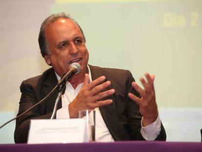 O governador Luiz Fernando Pezão.