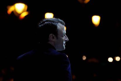 O presidente eleito francês, Emmanuel Macron.