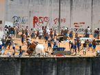 Novo confronto entre presos do PCC e do Sindicato do Crime na Penitenciária de Alcaçuz, no Rio Grande do Norte.
