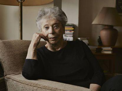 A escritora e ensaísta Vivian Gornick durante a entrevista em Nova York.