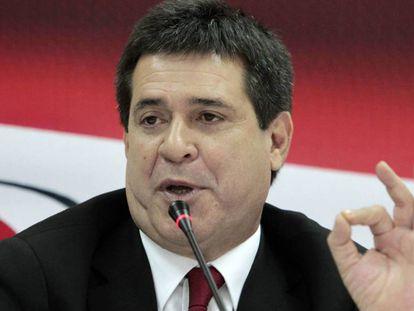 Horacio Cartes, ex-presidente do Paraguai, em 2013.