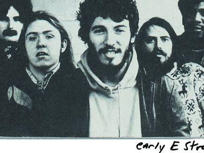 Imagem do livro de memórias de Bruce Springsteen 'Born to run'.