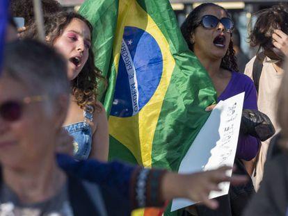 A polarização que colocou as mulheres em marcha contra o retrocesso