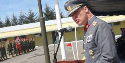 Coronel Germán Villarroel, ex-diretor da Escola Militar do Chile.