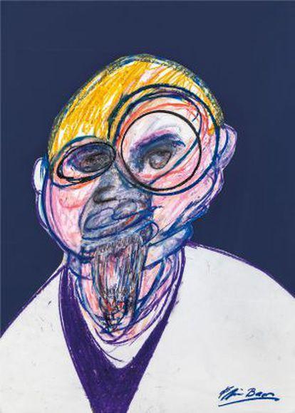 'Retrato', de Francis Bacon / Coleção Privada.