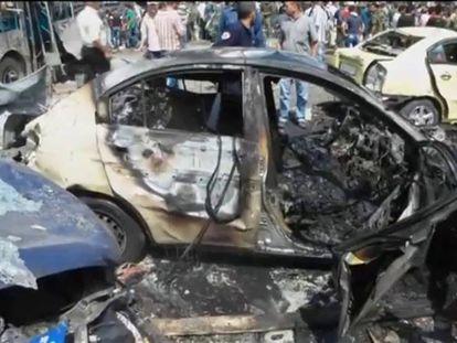 Uma centena de mortos em vários atentados do EI na Síria.