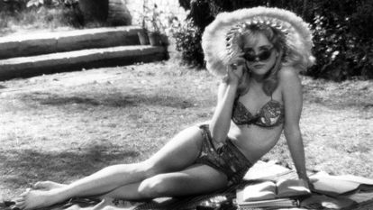 A atriz Sue Lyon, que encarnou a Lolita no filme de Stanley Kubrick de 1962.