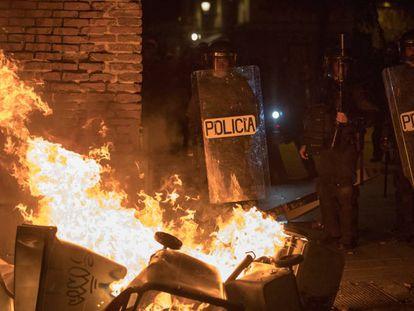 Uma noite de cólera no coração de Madri