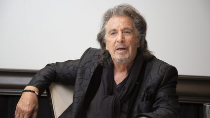 Al Pacino em 19 de fevereiro, na apresentação de 'Hunters' em Beverly Hills.