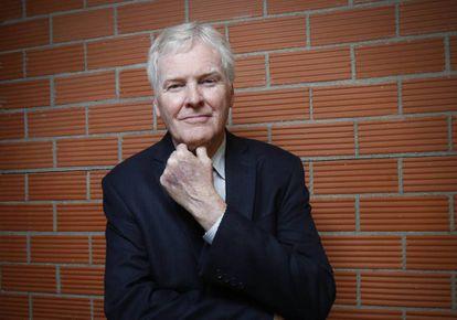 O genetista norte-americano Michael W. Young, fotografado em Madri.