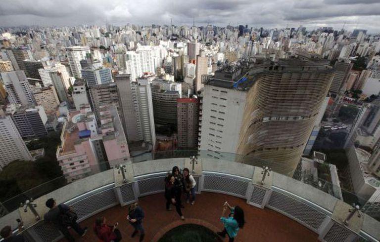 Vista panorâmica de São Paulo.