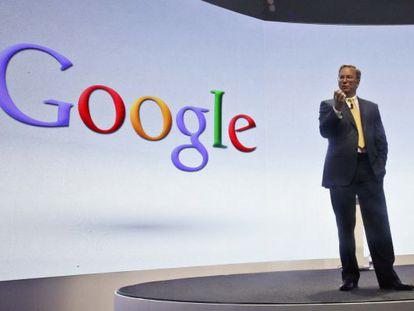 Eric Schmidt, presidente do Google.