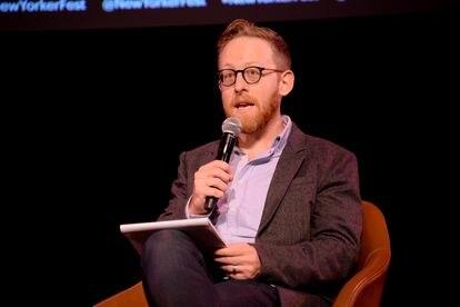 O escritor e jornalista Andrew Marantz, em Nova York, em 2019