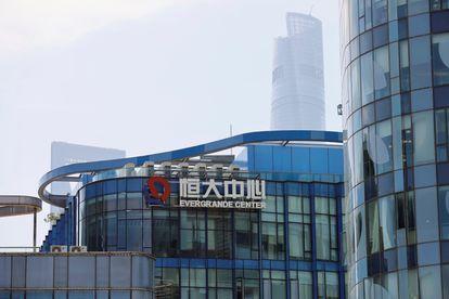 Fachada da sede da Evergrande em Shanghai (China), nesta sexta-feira.