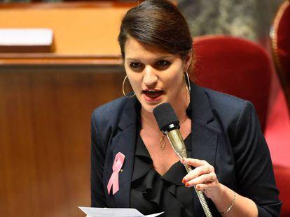 A secretária de Estado para a Igualdade Marlène Schiappa
