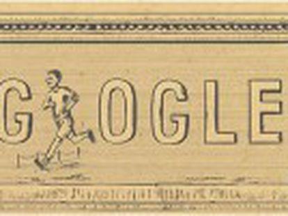 Em 6 de abril de 1896 eram inaugurados em Atenas os primeiros jogos da era moderna. Google comemora a data com um logo
