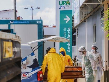 Unidades de Pronto Atendimento (UPA) em Fortaleza, adaptadas para enfrentar a pandemia.