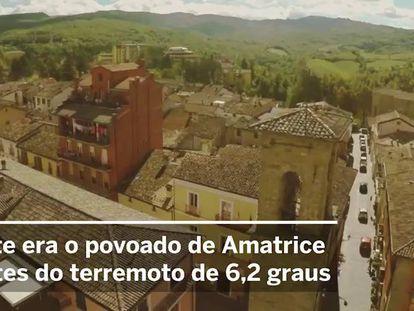 """""""Metade da cidade já não existe mais"""", diz o prefeito de Amatrice"""