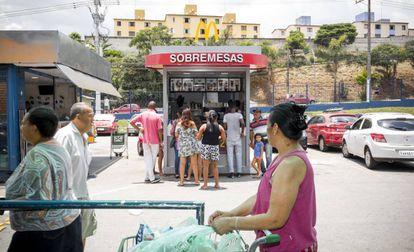 O McDonald's de Cidade Tiradentes na sexta-feira 30 de novembro