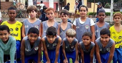 Maria Alice é a única menina futebolista em Vieiras, interior de Minas Gerais.