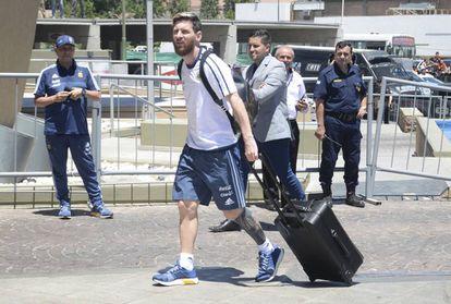 Lionel Messi viajou no avião que caiu.