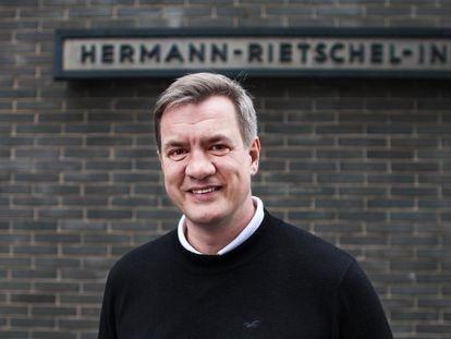 Martin Kriegel, diretor do Instituto Hermann Rietschel da Universidade Técnica de Berlim.