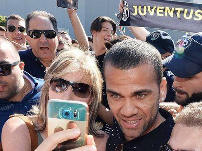 Daniel Alves em Turim.