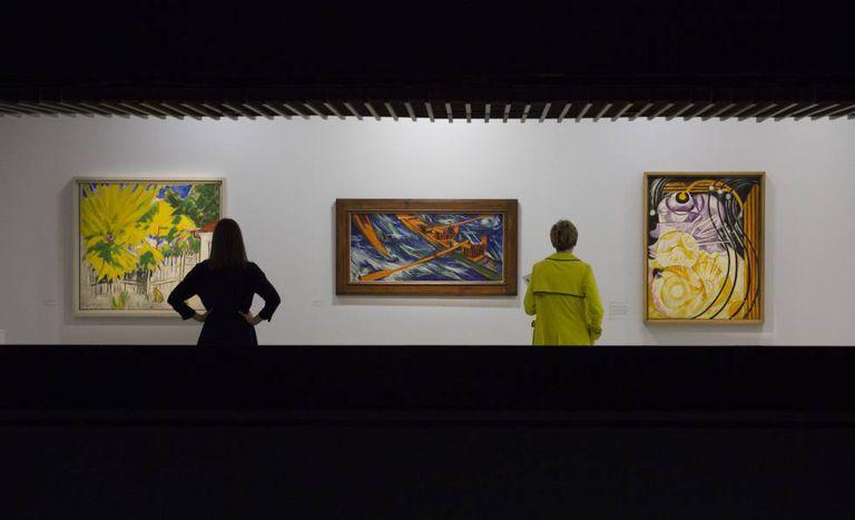 A exposição 'Modern Couples', na galeria Barbican de Londres.