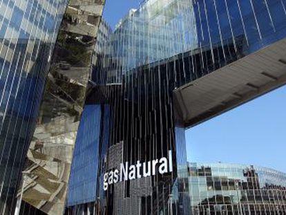 Sede central de Gas Natural em Barcelona.