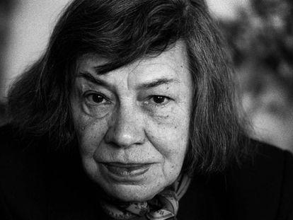 Patrícia Highsmith, na década de 1980.