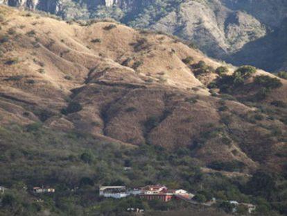 A serra de Sinaloa, berço do cartel.