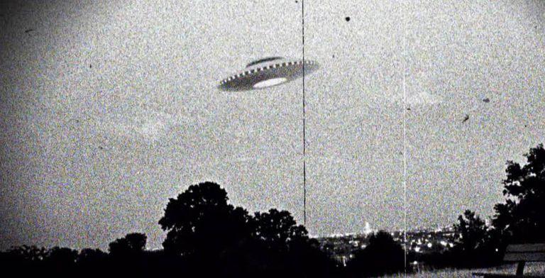 Suposta imagem de um OVNI em Westall (Austrália), em 1966.