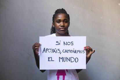 Josephine, 16 anos, do Maláui
