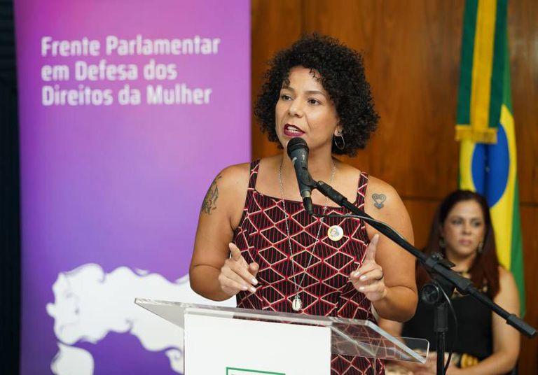 A deputada federal Áurea Carolina (PSOL-MG), um dos nomes femininos no Congresso.