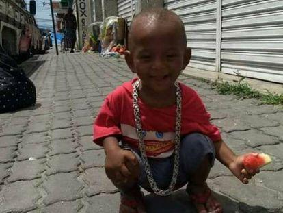 Benjamin, de 1 ano e 7 meses, morreu em abril baleado na cabeça.