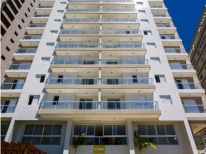 O condomínio Solaris, em Guarujá.