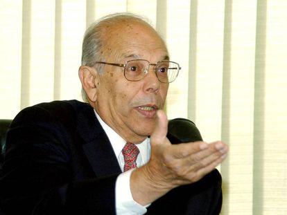 Jorge Batlle, ex-presidente do Uruguai, em 2003.