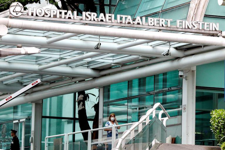 Fachada do Hospital Albert Einstein, onde fi detectado primeiro caso de coronavírus no Brasil.