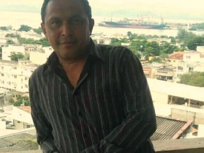 O hoje pastor Aldidudima Salles.