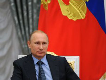 O presidente Vladimir Putin.