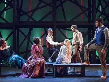 Atores encenam o musical em homenagem a Chico Buarque.