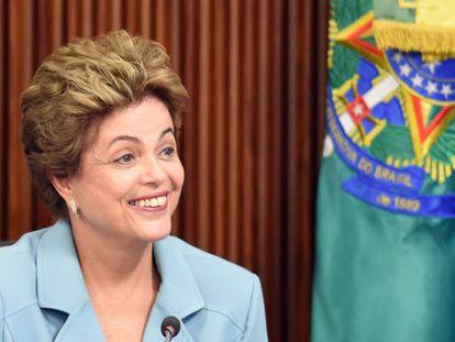A presidenta Dilma Rousseff.