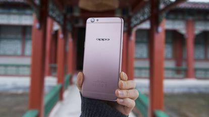 O smartphone OPPO R9s.