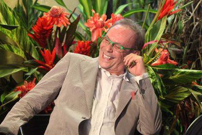O ator José Wilker, em Paraty no ano passado. / Luciana Serra/ Folhapress