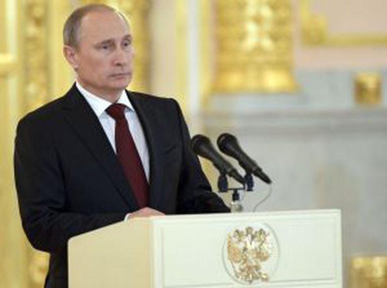 Vladimir Putin, em ato oficial nesta sexta.
