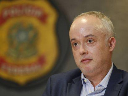 O procurador Santos Lima, da força-tarefa da Lava Jato.