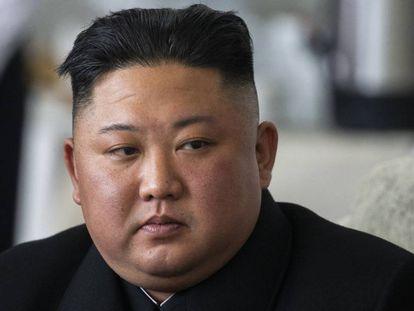 Kim Jong Um, em uma imagem de arquivo.