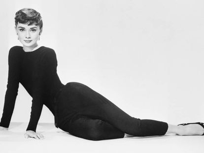 A atriz Audrey Hepburn em foto de divulgação do filme 'Sabrina'.