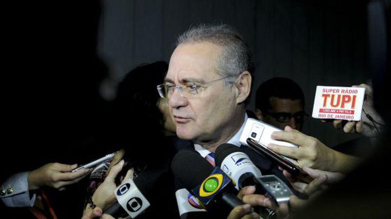 O presidente do Senado, Renan Calheiros.
