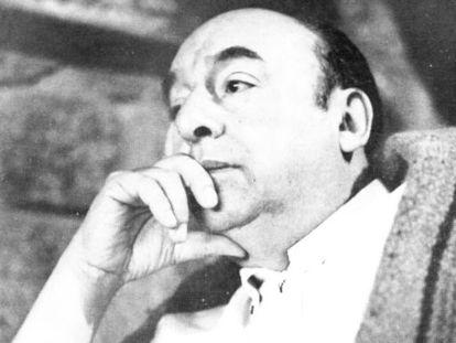 El Nobel chileno Pablo Neruda.